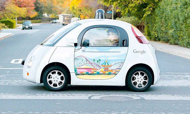 TECH A LOOK: Driverless cars could arrive in India sooner than you think | Daily Mail Online
