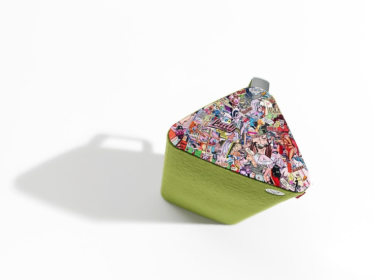 """Libratone, Scandinavian high-end speakers. Special edition made by Lizzy Courage """"Lady Never Pays"""""""