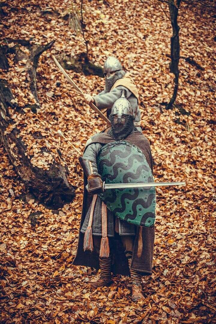 Polish Piast dynasty warriors X-XI th. c.