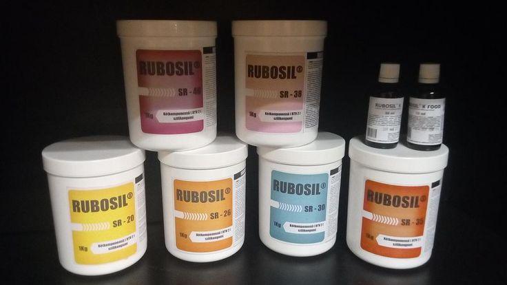 Rubosil önthető szilikon egyedi gyertya készítéshez