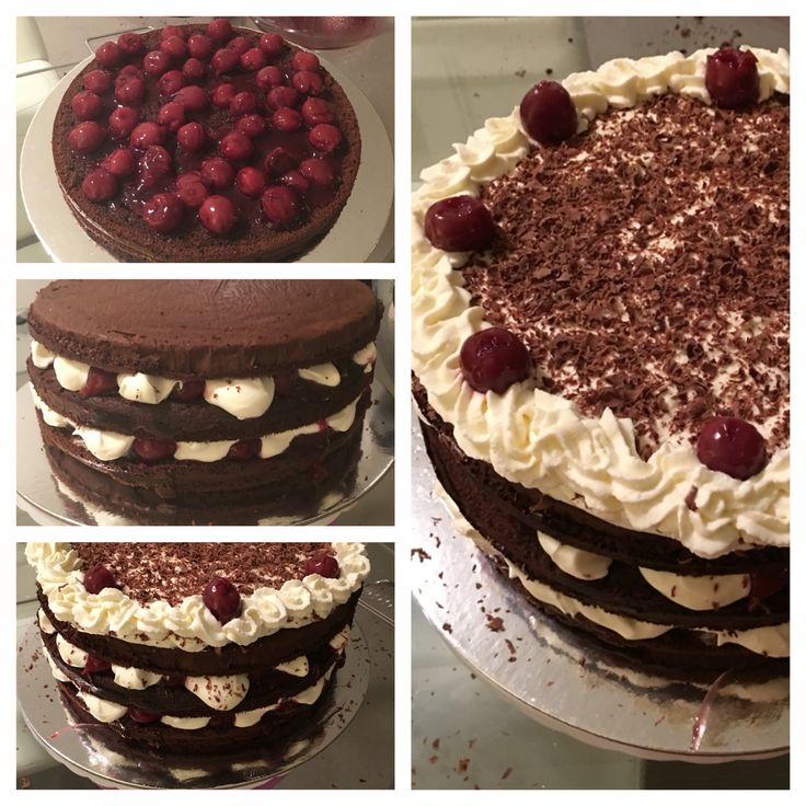I love my Black Forest cake