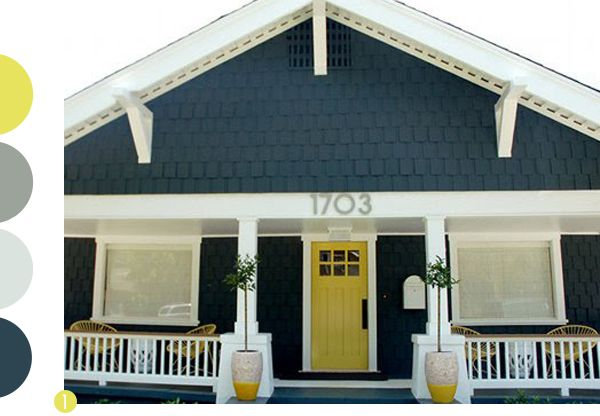 Exterior paint colors ideas i want a yellow or some other - Bright house colors for exterior ...