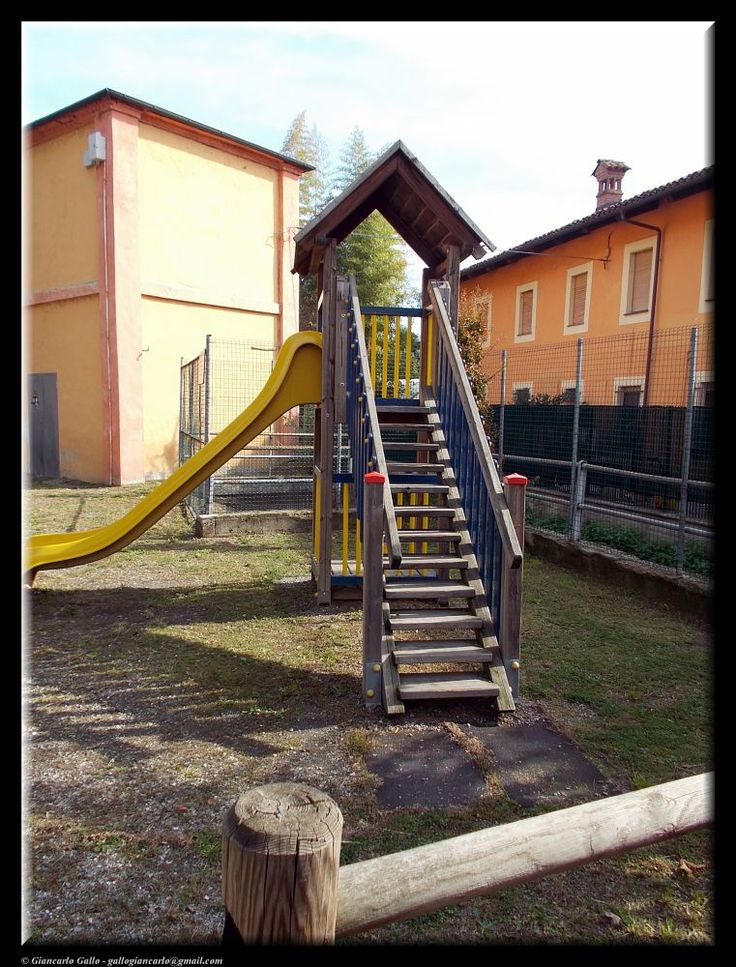 In the children's playground by Giancarlo Gallo
