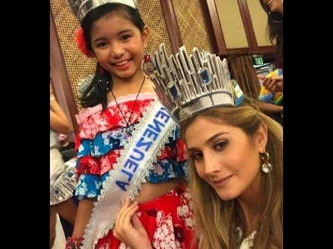 Llegada De Mariam Habach , Miss Venezuela A La Ciudad De CEBU, FILIPINAS