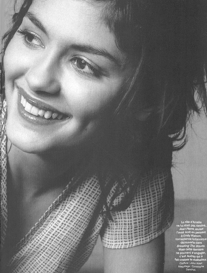 Audrey Tautou most beautiful woman? pretty close