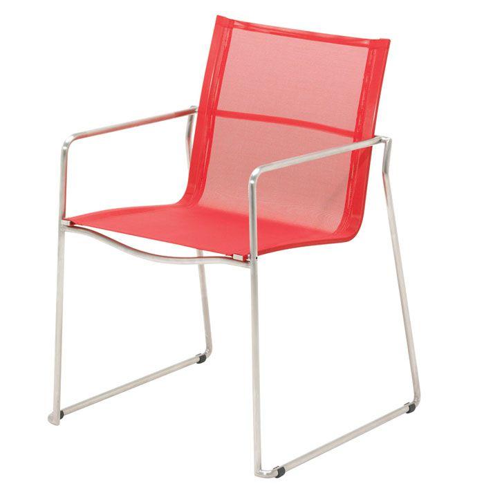 Gloster Asta Red - stapelstoel