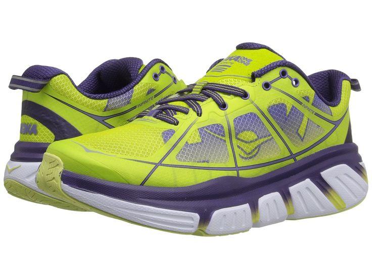 Women's Hoka One One Infinite Running Shoes Acid/Mulberry Purple