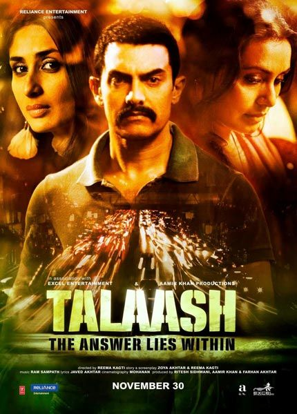 Talaash 2012 Cover