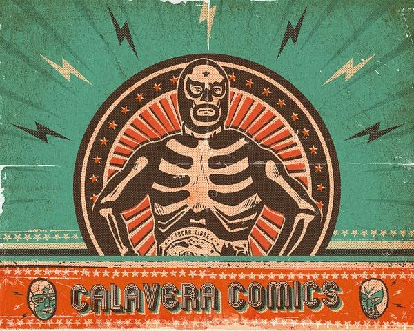 Calavera Comics By Alex Ziritt