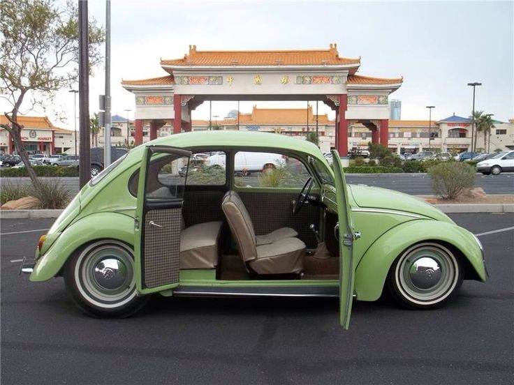 VW Bug With Suicide Doors