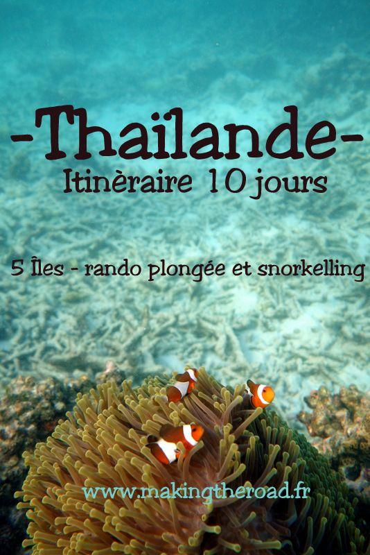 Thaïlande – Itinéraire 2 semaines depuis Bangkok – Weblog de Voyage