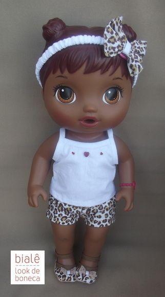 Roupas para Baby Alive: na medida certa para a boneca Cuida de Mim. Confira!