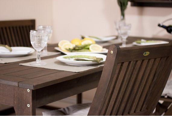 Mesa e cadeiras para churrasqueira!