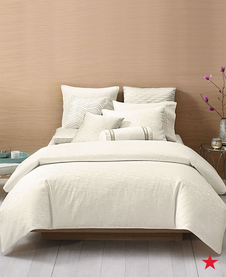 Elegant Dream In The Luxury Of Woven Bedding From Hotel Collection. The Soothing  Colors Of Ivory Great Ideas