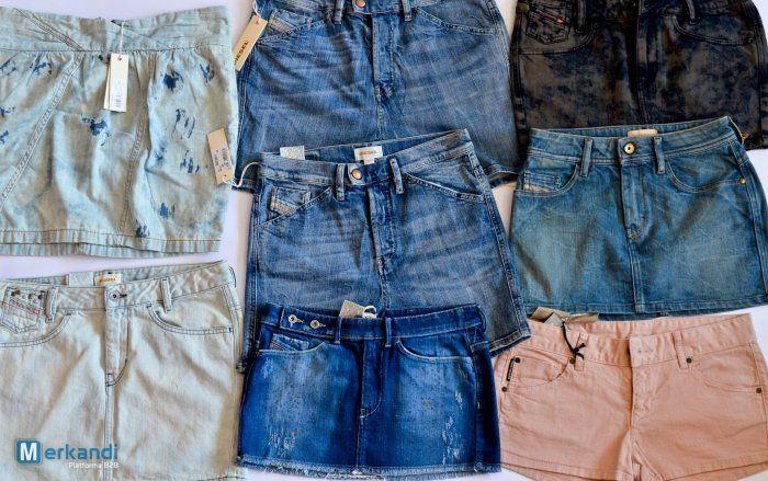 Gonne diesel e pantaloni corti con enorme profitto margine - Stock abbigliamento | Merkandi.it