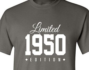 1950 Limited Edition 2015 65th Birthday Party Shirt, 65 years old shirt, limited edition 65 year old, 65th birthday party tee shirt TH-151