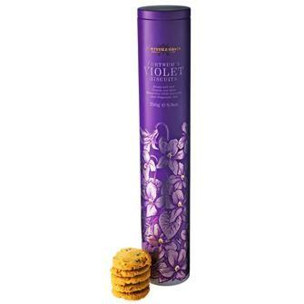 Violet Biscuits, Fortnum & Mason