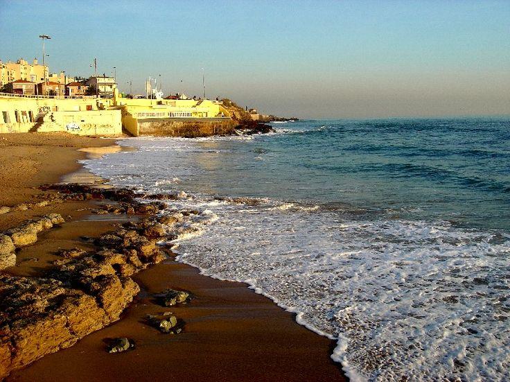 Uma pequena maravilha a praia da Parede.