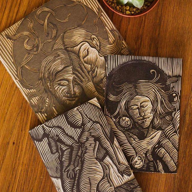 #Linoleum plates for #linocutprints by @lisedmarquez_arts
