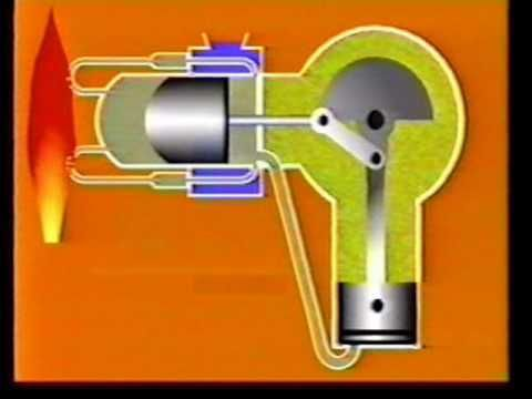 new Stirling hot air engine from Maidstone Engineering - YouTube