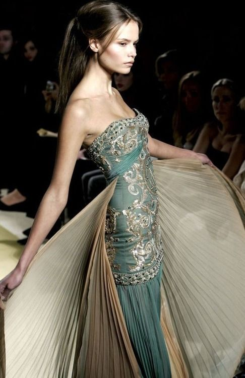 Zuhair murad  This construction is kind of awesome and fishy.