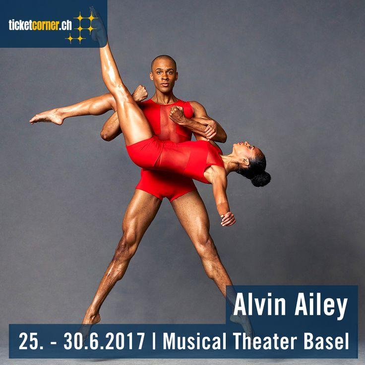 Seit über 50 Jahren sind die Aufführungen des Alvin Ailey American Dance Theater ein lebendiges Sinnbild für die Freude am Leben. Die international erfolgreichste Tanzcompany aus New York gastiert vom 25. bis 30. Juli 2017 im Musical Theater Basel.
