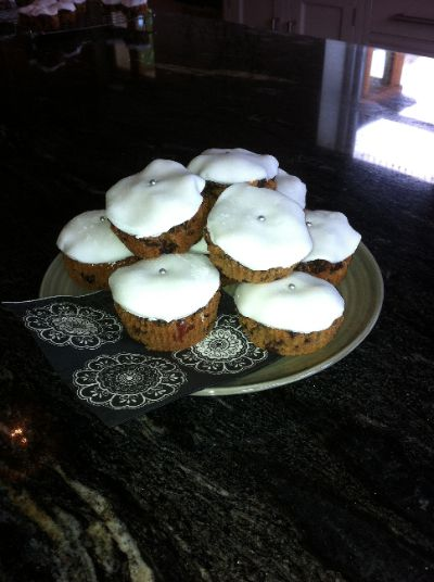 Mini Spiced Fruitcakes | Recipes & Such Delicious Things | Pinterest