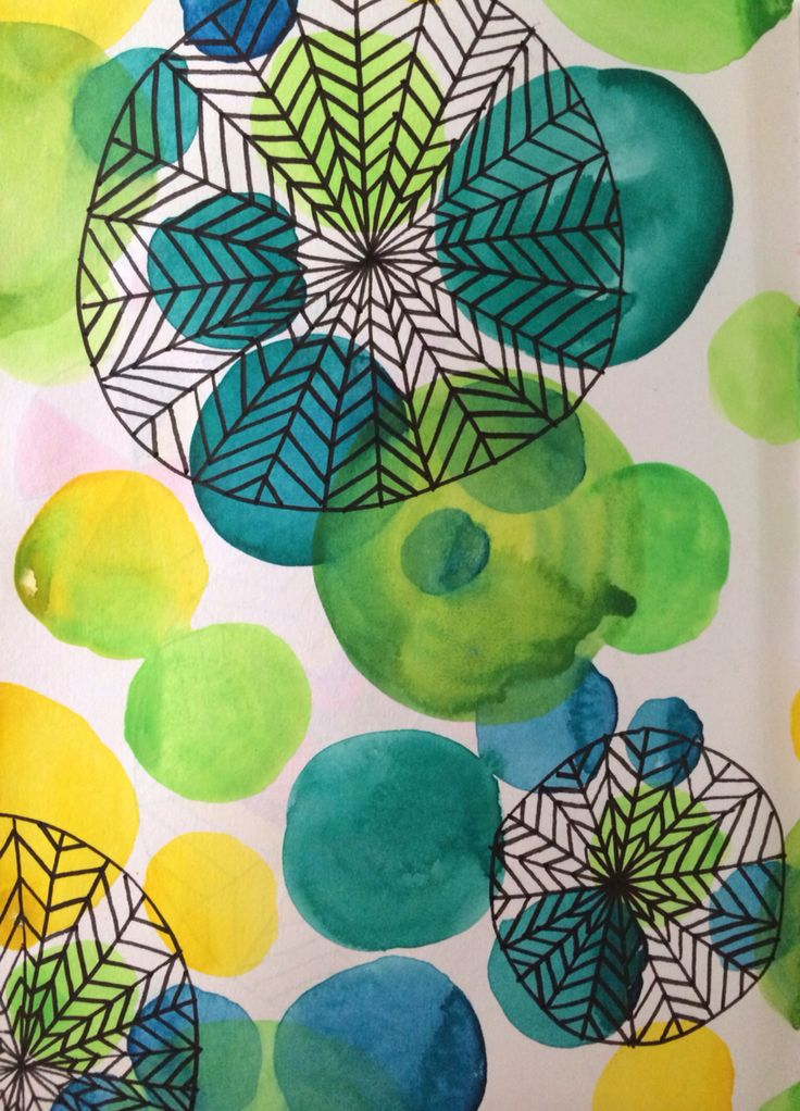 Artwork from Lisa Congdon's sketchbook explorations class Love the class!