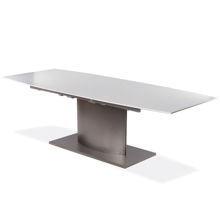 Lund Extendable Dining Table   White