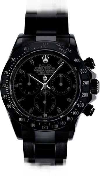 Luxurious Men Watch.  This thing looks classy but mean. I dig that