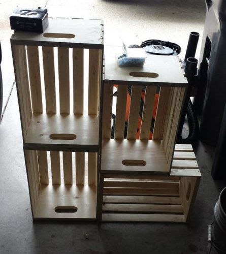1000 ideas about crate bench on pinterest crates milk for Wood crate bench