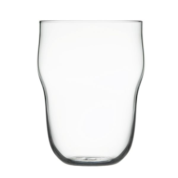 Lempi glass 45 cl, clear, set of 2. Designed by Matti Klenell for Iittala.