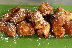 Le frittelle di mele e uvetta di Iginio Massari