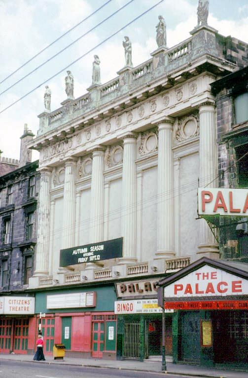 Citizens and Palace Theatres, Glasgow.