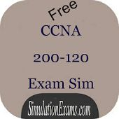 SimulationExams.com Free CCNA 200-120 practice questions android application is available at: https://play.google.com/store/apps/details?id=com.anandsoft.ccnaexamsim