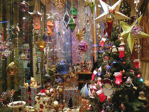 Montreal Christmas Window Display