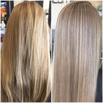 Overlapping Highlights with Olaplex ... No damage. - Yelp