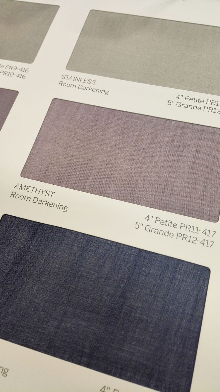 Luxaflex Pirouette Shadings: Satin fabric range - Amethyst