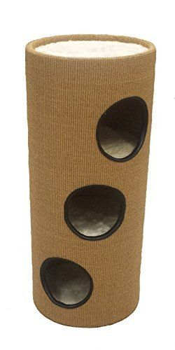 SISAL Deluxe Cat Activity Centre and Scratching Tree with Hidey-Holes