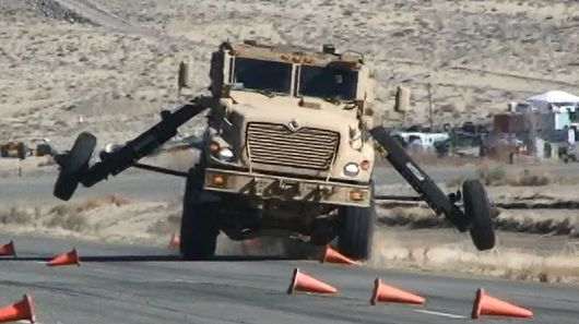 The US Army is outfitting the MaxxPro family of MRAP vehicles with electronic stability control (ESC) technology to help prevent rollovers