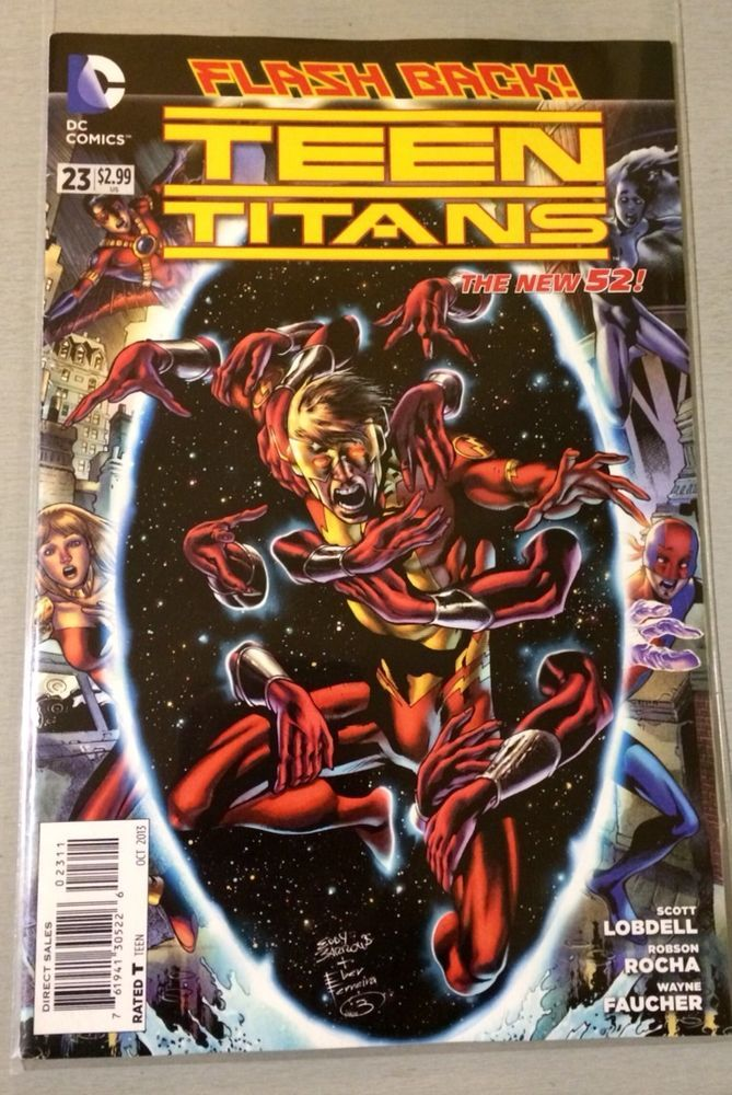 DC New 52- Teen Titans - Issue # 23 - 1st Print