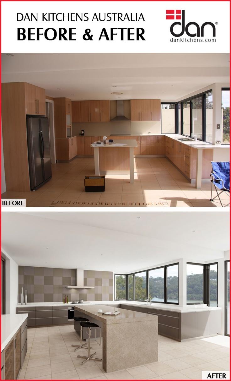 Dan Kitchens Australia - Before & After #DanKitchensAus