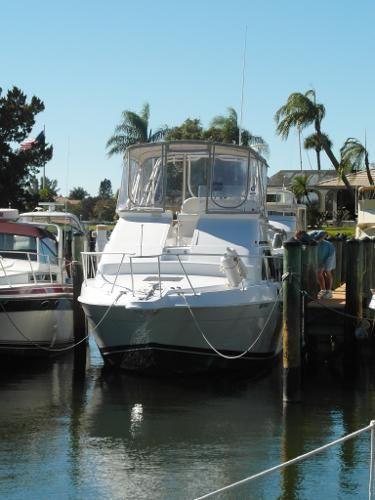 31' Mainship 1998 Sedan Bridge Boat For Sale  www.EdwardsYachtSales.com