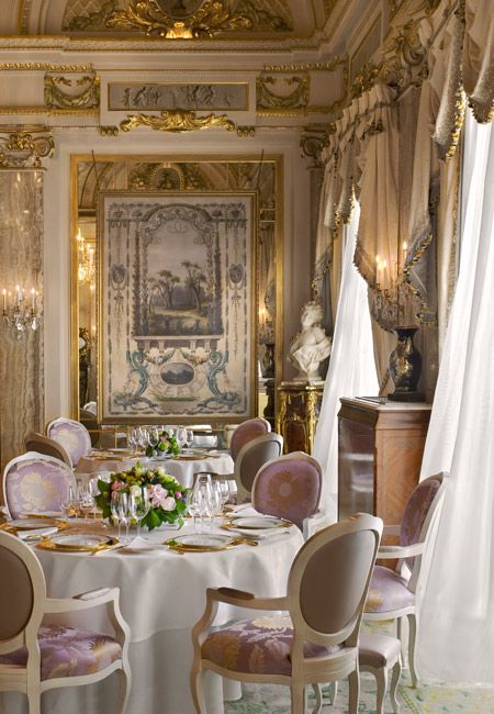 3-star Gastronomic Restaurant Le Louis XV by Alain Ducasse in Hotel de Paris, Monte Carlo