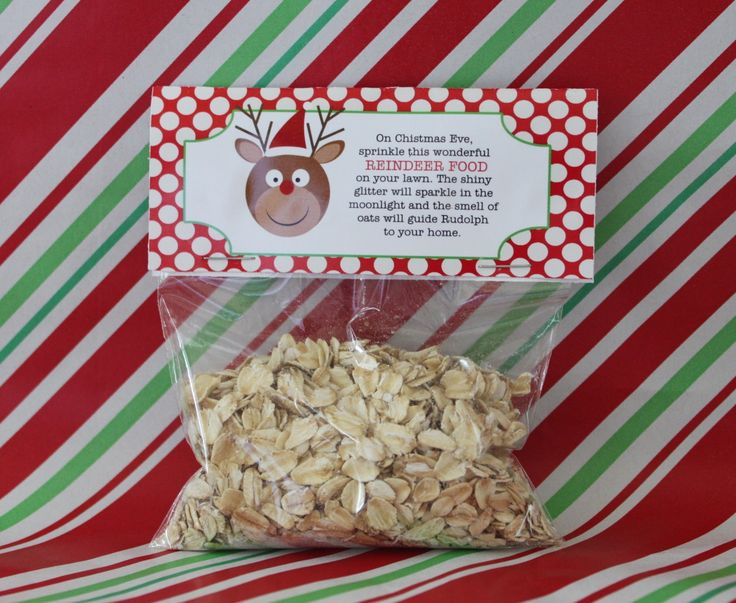Christmas Party Favours Ideas Part - 46: Printable DIY Reindeer Food Holiday Party Favor Tag Topper INSTANT  DOWNLOAD. Christmas Party FavorsSchool ...