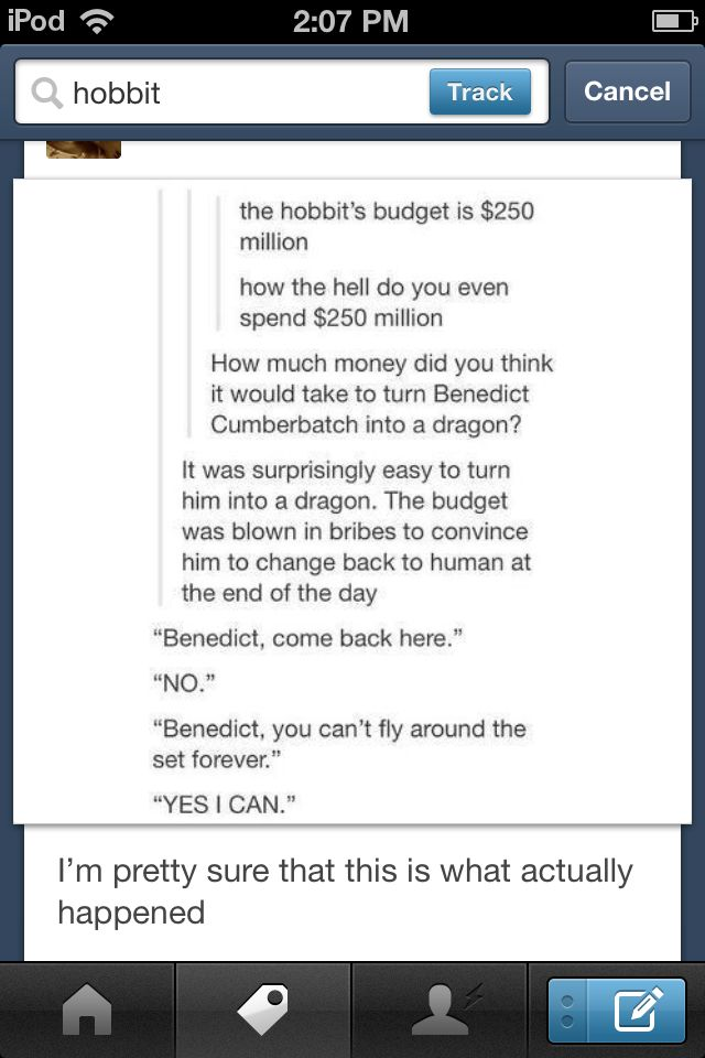 Budget for The Hobbit