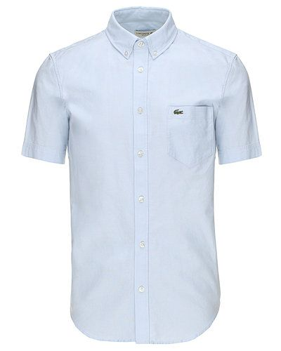 Seje Lacoste kortærmet skjorte Lacoste Skjorter til Herrer til hverdag og til fest
