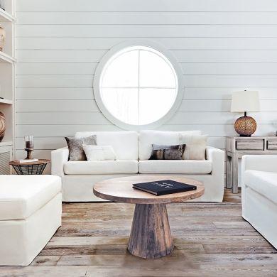 Déco: marier le bois et le blanc - Salon - Inspirations - Décoration et rénovation - Pratico Pratique