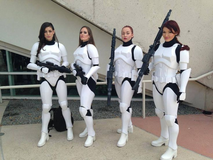 Awesome Female Stormtrooper Armor By Kevin Weir
