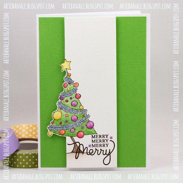 Cute Christmas Card Design: ARTE BANALE: CAS(E) this Sketch #193 - gościnnie